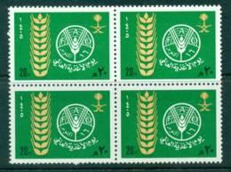 Saudi Arabia 1984 World Food Day Block 4 MUH Lot26752 - Saudi Arabia