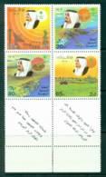 Saudi Arabia 1985 5 Year Plan Inscription Block 4 MUH Lot26773 - Saudi Arabia