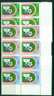 Saudi Arabia 1985 Asian Soccer Cup Block 4 MUH Lot26781 - Saudi Arabia