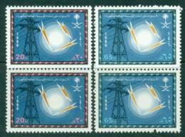 Saudi Arabia 1986 Electric Power Pair MUH Lot26808 - Saudi Arabia