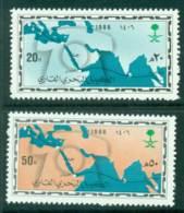 Saudi Arabia 1986 Maritime Cable MUH Lot26793 - Saudi Arabia