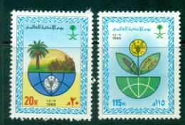 Saudi Arabia 1986 World Food Day MUH Lot26843 - Saudi Arabia