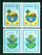 Saudi Arabia 1986 World Food Day Pair MUH Lot26844 - Saudi Arabia