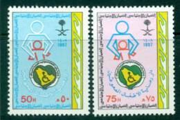 Saudi Arabia 1987 Disabled Childrens Home MUH Lot26811 - Saudi Arabia