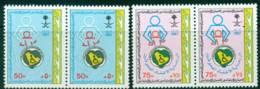 Saudi Arabia 1987 Disabled Childrens Home Pair MUH Lot26812 - Saudi Arabia