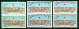 Saudi Arabia 1987 Pilgrimage To Mecca Pair MUH Lot26814 - Saudi Arabia