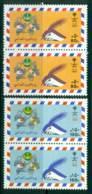 Saudi Arabia 1987 World Post Day Pairs MUH Lot26820 - Saudi Arabia