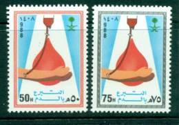 Saudi Arabia 1988 Blood Donation MUH Lot26753 - Saudi Arabia
