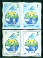 Saudi Arabia 1988 Environmental Protection Pairs MUH Lot26854 - Saudi Arabia
