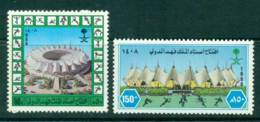Saudi Arabia 1988 King Faud Stadium MUH Lot26849 - Saudi Arabia