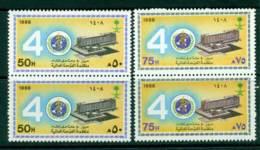 Saudi Arabia 1988 WHO MUH Pairs Lot26847 - Saudi Arabia