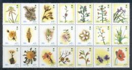 Saudi Arabia 1990 Flowers 50h, Blk21 MUH - Saudi Arabia