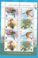 2008  453-56  WWF   MAKEDONIJA  MACEDONIA MAKEDONIEN  PROTEKTION NATURA NATURSCHUTZ  BIRDS  MNH - W.W.F.