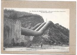DEPT 03 - Environs De MONTLUCON - Barrage Sur Le Cher à ROCHEBUT - La Chute Des Tuyaux - DELC1 - - Montlucon