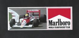 MARLBORO - WORLD CHAMPIONSHIP TEAM  (S 190) - Stickers