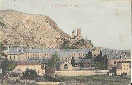 Foix (Ariège) - Le Lycée (Lakanal) - Carte Colorisée - Schulen
