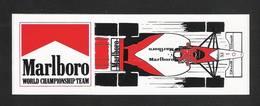 MARLBORO - WORLD CHAMPIONSHIP TEAM  (S191) - Stickers