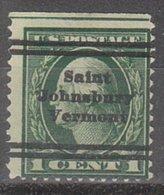USA Precancel Vorausentwertung Preo, Locals Vermont, Saint Johnsbury L-2 TS, Perf. 12x12 - Vereinigte Staaten