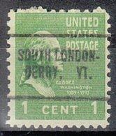 USA Precancel Vorausentwertung Preo, Locals Vermont, South Londonderry 705 - Vereinigte Staaten
