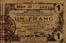 BON REGIONAL   UN FRANC   .. - Autres