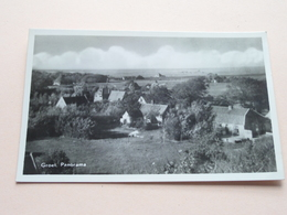 GROET (Bergen) N.H. Panorama ( A. Kruit, Groet ) Anno 1952 ( Zie Foto Voor Details ) ! - Altri