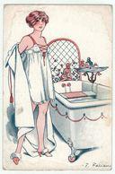 Illustrateur F.Fabiano // Femme érotique, Froufrou, Pour être Belle Série No. 15-75 - Fabiano