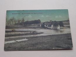 Samenvloeiing Van MAAS En ROER ( E & B ) Anno 1916 ( Zie Foto Voor Details ) ! - Roermond