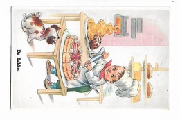 "Fils  Et  Chien  ""  De  Bakker  ""  /  Boulanger - Children's Drawings"