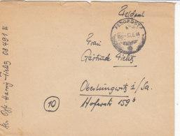 Feldpostlot Vom Jäg.Rgt.32 Aus 6+7/44 Aus Den Niederlanden / Ein Zurück Brief - Deutschland