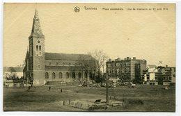 CPA - Carte Postale - Belgique - Tamines - Place Communale ( SV5495 ) - Sambreville