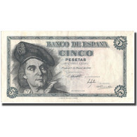 Billet, Espagne, 5 Pesetas, 1948, 1948-03-05, KM:136a, TTB+ - [ 3] 1936-1975 : Regency Of Franco