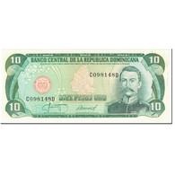 Billet, Dominican Republic, 10 Pesos Oro, 1987, Undated (1987), KM:119c, SPL - Dominicaine