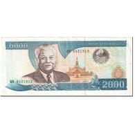 Billet, Lao, 2000 Kip, 2003, Undated (2003), KM:33b, TTB - Laos