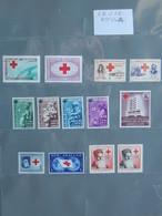 Organizzazioni: CROCE ROSSA, Vari Valori Corea, Colombia, Suriname, Ecuador, Honduras, Cile, Nuova Zelanda - Red Cross