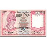 Billet, Népal, 5 Rupees, 2001, Undated (2001), KM:53a, NEUF - Népal