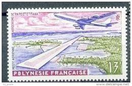 """Polynésie Aerien YT 5 (PA) """" Aéroport De Faaa """" 1960 Neuf** - Airmail"""