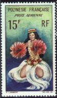 "Polynésie Aerien YT 7 (PA) "" Danseuse Tahitienne "" 1964 Neuf* - Airmail"
