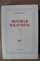 Monsieur Malaussène - Daniel Pennac - EO 1995 - NRF - NRF Gallimard