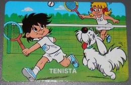 PETIT  CALENDRIER DE LE  SERIE SPORT BILLY  - 1987 - Petit Format : 1981-90
