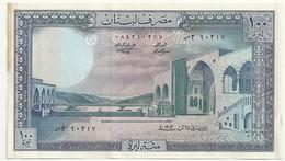 Liban 100 Livres Unc - Liban