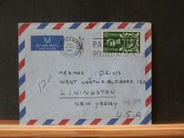 79/511 LETTRE TO USA 1961 - 1952-.... (Elizabeth II)