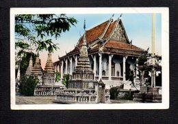 Cambodge Indochine,Viet Nam,Cochinchine  / Une Pagode , Lieu ? - Cambodia
