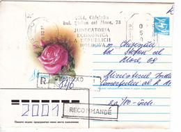 MOLDOVA  MOLDAVIE  MOLDAWIEN MOLDAU  1998 , ATM , Flowers , Roses , Used Cover. - Moldova