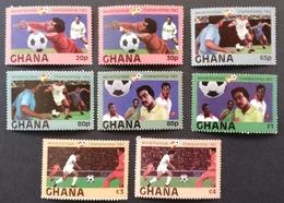 """Ghana 1982  World Cup Espana """"82 - Ghana (1957-...)"""