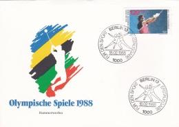 Berlin FDC 1988 Seoul Olympic Games (G92-50) - Zomer 1988: Seoel
