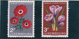 L 145 - Luxembourg - Prifix N° 547 Et 548 Neufs Sans Charnière ** - Luxemburg