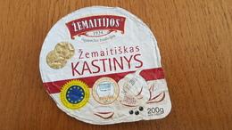 Lithuania Litauen Zemaitiskas Kastinys 200g. - Milk Tops (Milk Lids)
