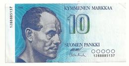 Finlande 10 Markkaa 1986 Superbe - Finlande