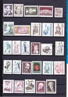 Austria Kleine Sammlung Postfrisch 1970 / 1982 Alles Abgebildet - Start 1 Euro !!! - Autriche