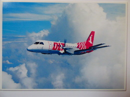 AIRLINE ISSUE / CARTE COMPAGNIE    DLT  SAAB 340 - 1946-....: Era Moderna